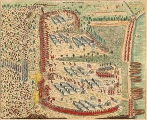 Battle of Lake George, September 8, 1755